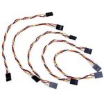 5 Pcs 4 Pin 20cm 2.54mm Jumper Wire Cables DuPont Line For Arduino