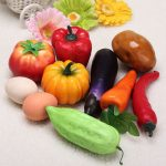 Plastic Artificial Vegetables Modern Home Decorations