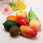 Plastic Artificial Fruits Plastic Food Home Decorations