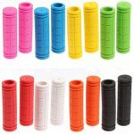 Fixed Gear Handle Grips Bicycle Rubber Handlebar