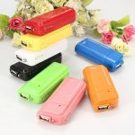 AA Battery Emergency USB Charger Power For Iphone 5 Samsung HTC