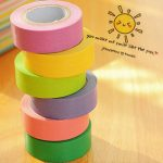 10pcs Decorative Rainbow Sticky Paper Masking Adhesive Tape Scrapbook