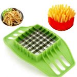 Honana Fries Potato Chip Slicer Fries Potato Maker Fruit Vegetable Chopper Cutter Kitchen Tool