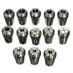 Drillpro 13pcs 1-13mm ER20 CNC Carving Machine Milling Chuck Collets