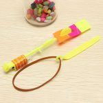 Amazing Toy LED Flash Rubber Band Helicopter Arrows for Kids