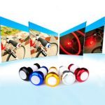 Bicycle Handlebar Light Cycling LED Bar End Plugs Safety Signals