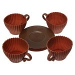 4pcs Cupcakes Muffin Baking Mould Chocolate Tea Cup Case Creative Baking Tools
