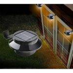 Creations Path Landscape 3LED Garden Solar-Powered Outdoor Light