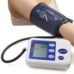 Automatic Wrist Blood Pressure Monitor Arm Type Intelligent Electronic Sphygmomanometer Instrument