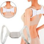 Adjustable Therapy Back Shoulder Brace Support Belt Posture Corrector