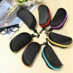 EVA Zip Eye Glasses Sunglasses Hard Cases Box Protector Holder Bag