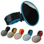Bicycle Rearview Flexible Mirror Cycling Handlebar Glass 5 color