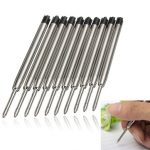 10PCS Black Ballpoint Refills for Parker Style Ink