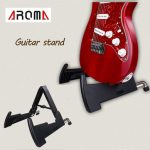 Aroma AGS-02 Guitar Stand Folding Plastic Rack for Guitar Bass Ukulele