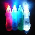 LED Flashing Light Squid Bait Underwater Fish Attraction Lamp Lure
