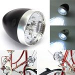 Bicycle Bike Headlight Front Light 3 LED With Bracket