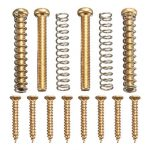 Humbucker Pickup Screws Kit Pickup Ring Surround Mounting Screws Gold