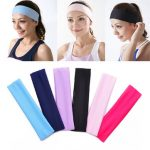 Honana BX-808 Elastic Ladys Plain Headband Yoga Sport Wash Face Snood 6 Colors