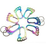 Climbing Hook Stainless Steel Key Chain Camping Outdoor Carabiner Tool