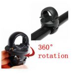 360 Rotation Torch Clip Mount Bicycle Front Bracket Flashlight Holder