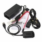 USB 2.0 to SATA/IDE Hard Drive Cable for HDD Converter W Power