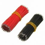 400Pcs 6cm Breadboard Jumper Cable Electronic Wires Black Red Colour