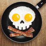 Silicone Skull Egg Frying Mold Breakfast Pancake Mould Kitchen Cooking Tool
