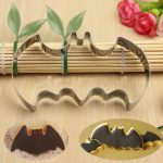 Halloween Fondant Cookies Biscuit Cutter Mould Bat Cake Mold