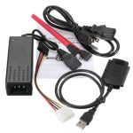 USB 2.0 to SATA IDE Hard Drive Cable for HD HDD Adapter W Power