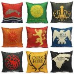 Honana WX-118 Thrones Games Pillow Case Throw Car Sofa Seat Cushion Cover