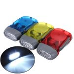 3 LED Dynamo Wind Up Hand-pressing Crank Flashlight