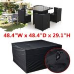 Waterproof Cube Set Cover Table Chair Shelter Garden Furniture Rain Cover
