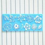 Silicone Flower Leaf Lace Cake Mold Decorations For Cakes Fondant