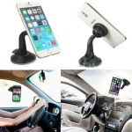 Suction Cup Magnetic Car Windshield Mount Holder For Cellphone