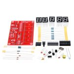 Original Hiland 1Hz-50MHz Five LED Display Frequency Counter With Frequency Oscillator Kit