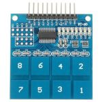 TTP226 8 Channel Digital Touch Sensor Switch Module For Arduino