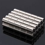 50pcs N52 Strong Cylinder Magnets Rare Earth Neodymium 4 6MM