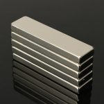 5pcs N35 Strong Block Cuboid Magnets Rare Earth Neodymium 40x10x4 mm