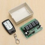 12V 4CH Channel 315Mhz Wireless Remote Control Switch