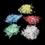 500Pcs 3MM LED Diode Kit Mixed Color Red Green Yellow Blue White
