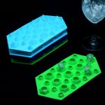 3D Silicone Diamond Cube Ice Tray Mold Chocolate Mould