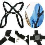 New Adjustable Tenor Baritone Sax Saxophone Harness Shoulder Strap