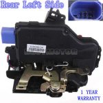 Front Left Door Lock 3D1 837 015A For Seat VW Golf Mk5 2003-2009
