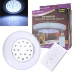 Battery-operate Wireless LED Night Light Remote Control Ceiling Light