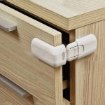 Drawer Cabinet Door Buckle Lock for Home Safety
