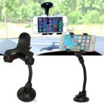 Universal Car Phone Holder Glass Sucker For iPhone Samsung Android