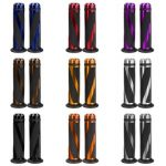 CNC Aluminum 7/8 Motorcycle Handlebar Rubber Hand Grips