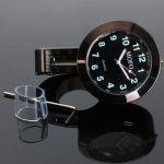 7/8 1 Universal Motorcycle Handlebar Mount Waterproof Clock
