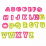 26 Letters Alphabet Capital Cake Cookie Cutters Sugarcraft Fondant Baking Mold