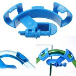 Aquarium Fish Tank Water Pipe Filter Hose Mount Tube Holder Blue